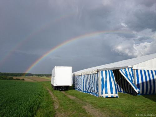 Zeltfest Aufbau 2014 Foto